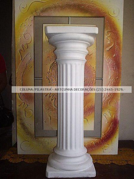 Coluna / Pilastra Dorica 90 cm