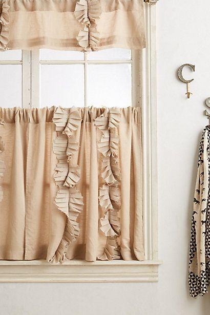 Flutter Cafe Curtain  #anthropologie