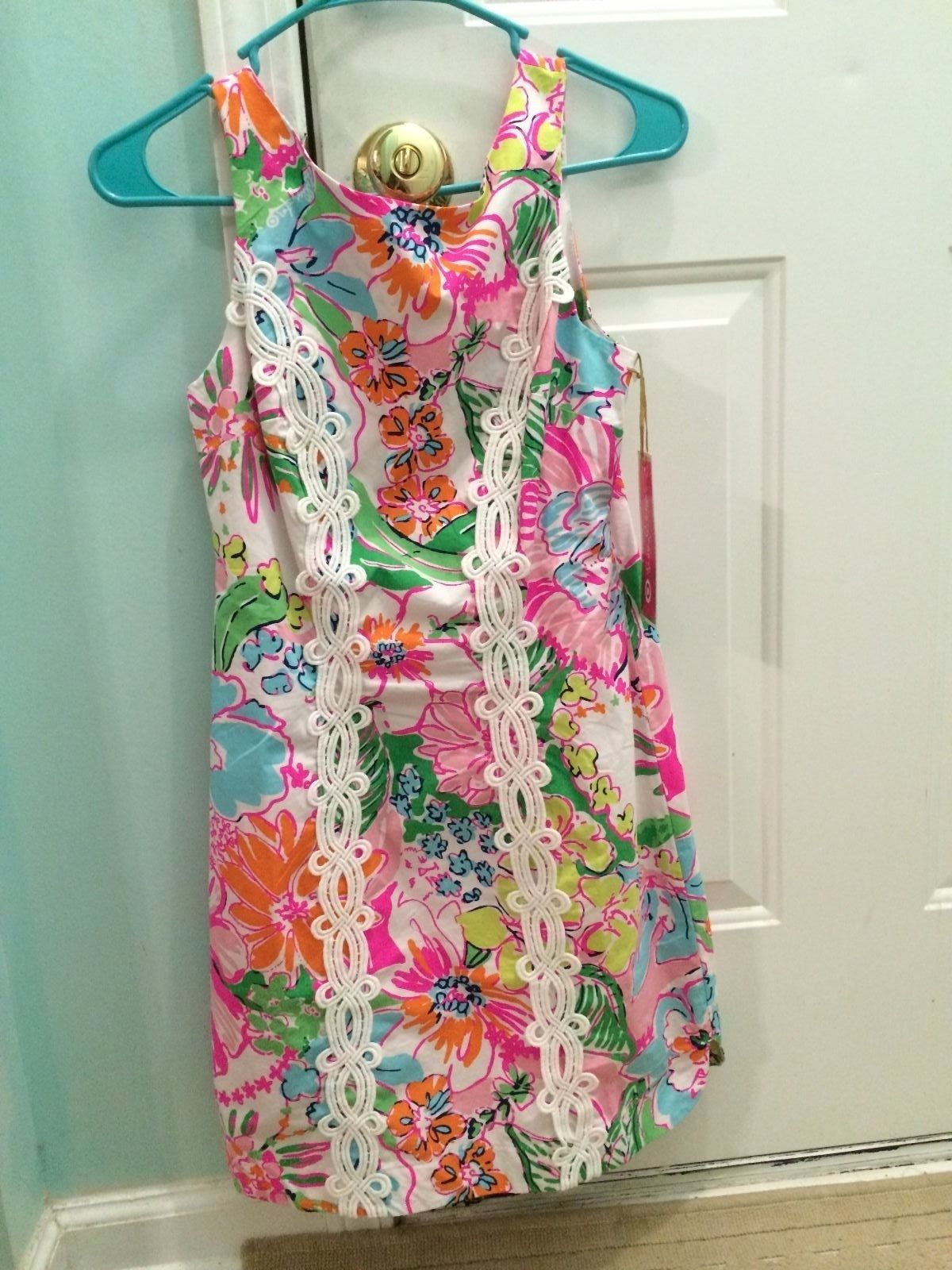 d27be2a2c8 Lilly Pulitzer for Target Nosie Posey Shift Dress Size 2
