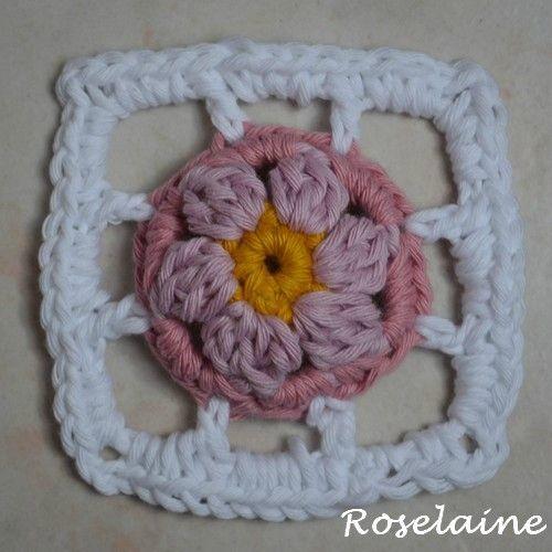Roselaine #springlanecal #dropsalong #dropsfan #dropsyarn ...