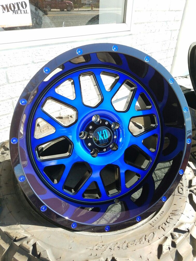 Jeep Wrangler Tires And Rims >> Candy blue coated Kmc Gernades | Blue car accessories ...