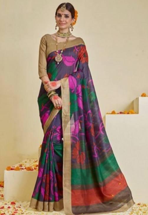cb566c5bd5 Pin by Storewalk on http://indiarush.com/art-silk-sarees-for-women ...