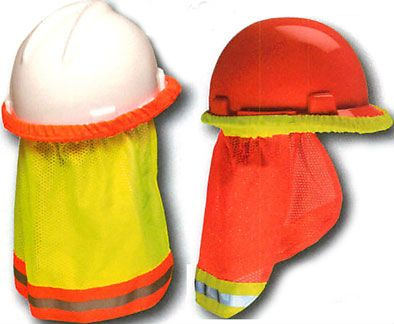Kishigo 2873 2874 Enhanced Visibility Full Brim Hard Hat Sun Shield Sun Shield Hard Hat Sun Protection Hat
