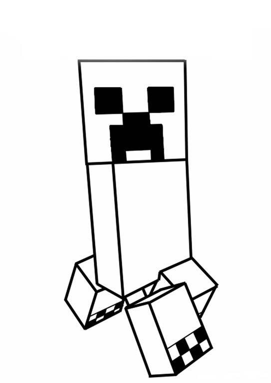 Creeper Minecraft Paginas Para Colorir Coisas Do Minecraft