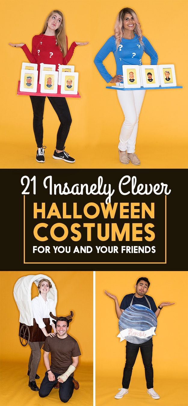 21 Insanely Creative Halloween Costumes For You And Your Friends ...
