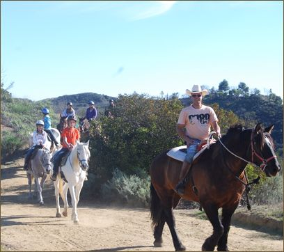 Santa Monica Los Angeles Horseback Riding Kids Los Angeles