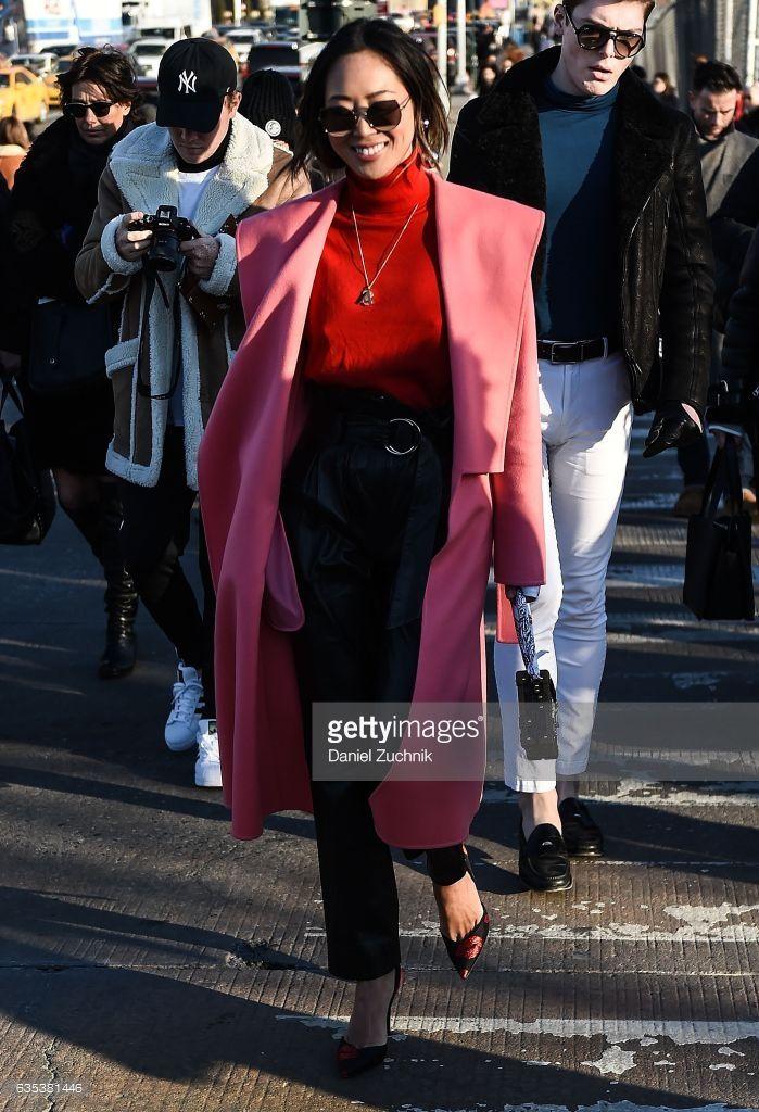 Street Style - New York Fashion Week February 2017 - Day 6 | Aimee ...