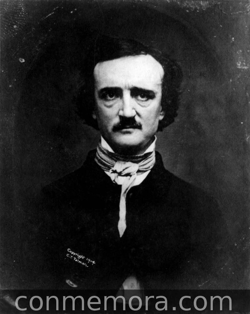 """CURIOSIDADES:  Tal día como hoy...  En 1845 Aparece en The Evening Mirror de Nueva York el poema """"El cuervo""""..."""