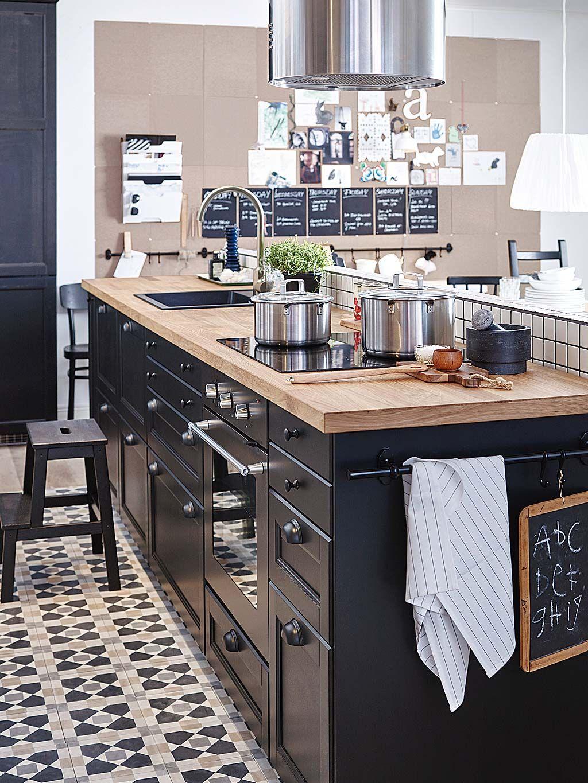 Grande #cuisine ouverte de style #industrielle ! http://www.m ...