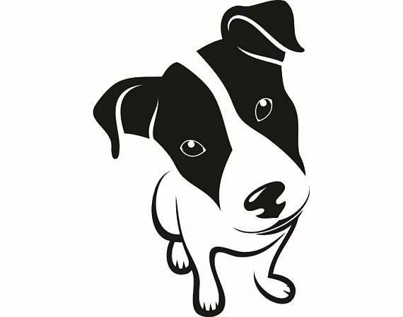 pinfred espejo on cameo silhouette  dog stencil