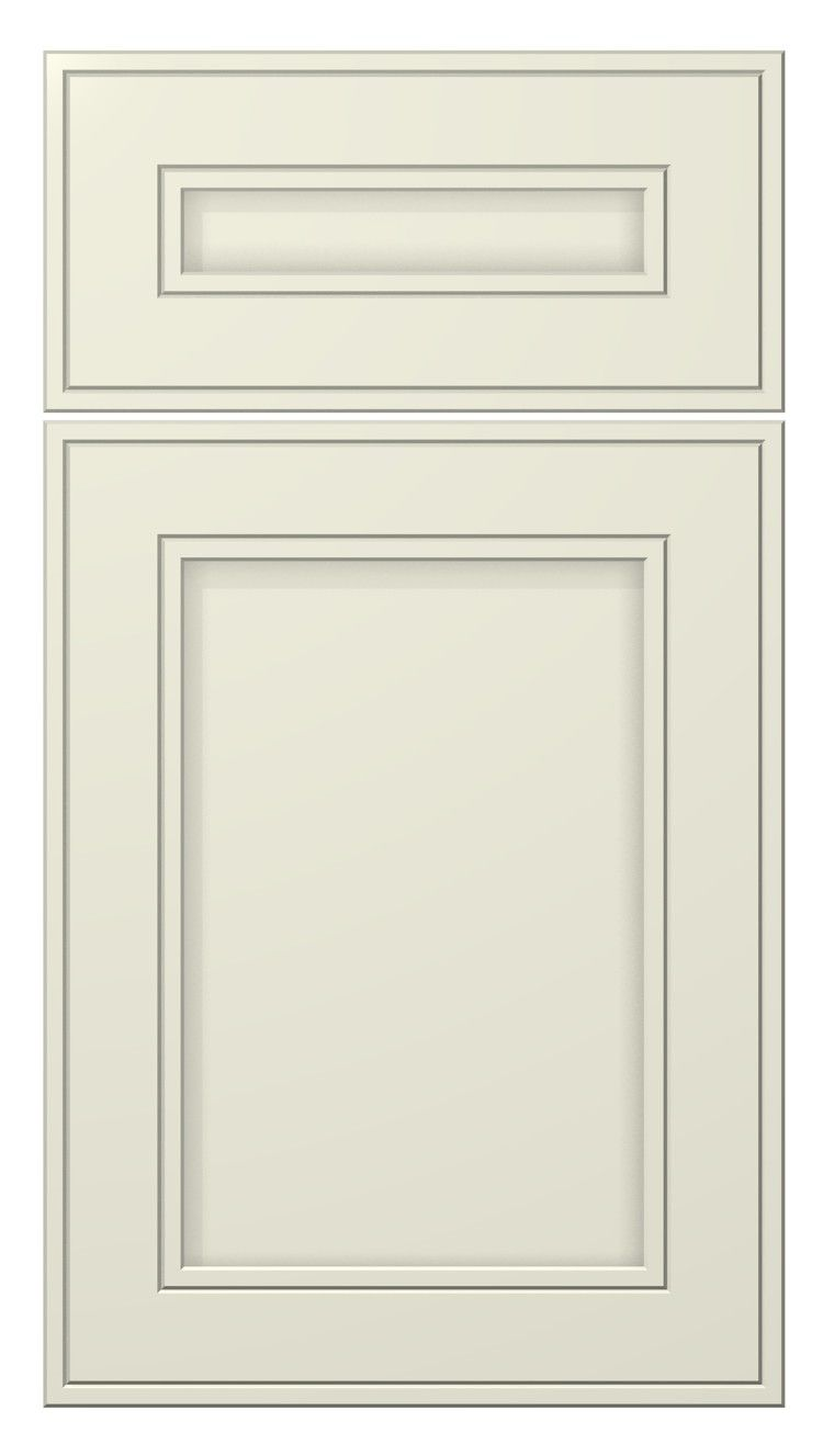 Westcoast door style painted antique white kitchen cabinets doors