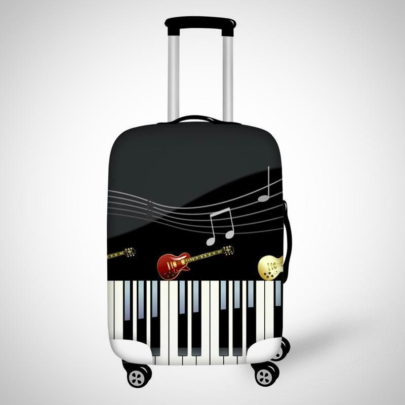 Mickey Mouse Music-Maleta Trolley Soft 3D