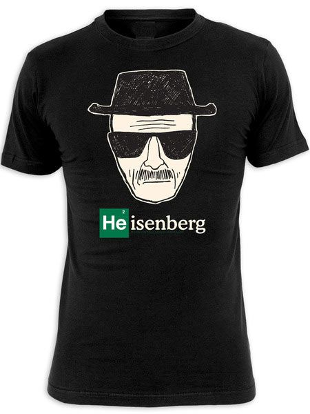 a66162a7947c3 Camiseta Breaking Bad. Heisenberg dibujo