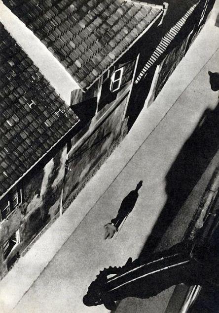 Josef Sudek (1896 - 1976) - Vikářská ulička, kolem 1935 From The Book Prazsky Chodec Photography by Josef Sude