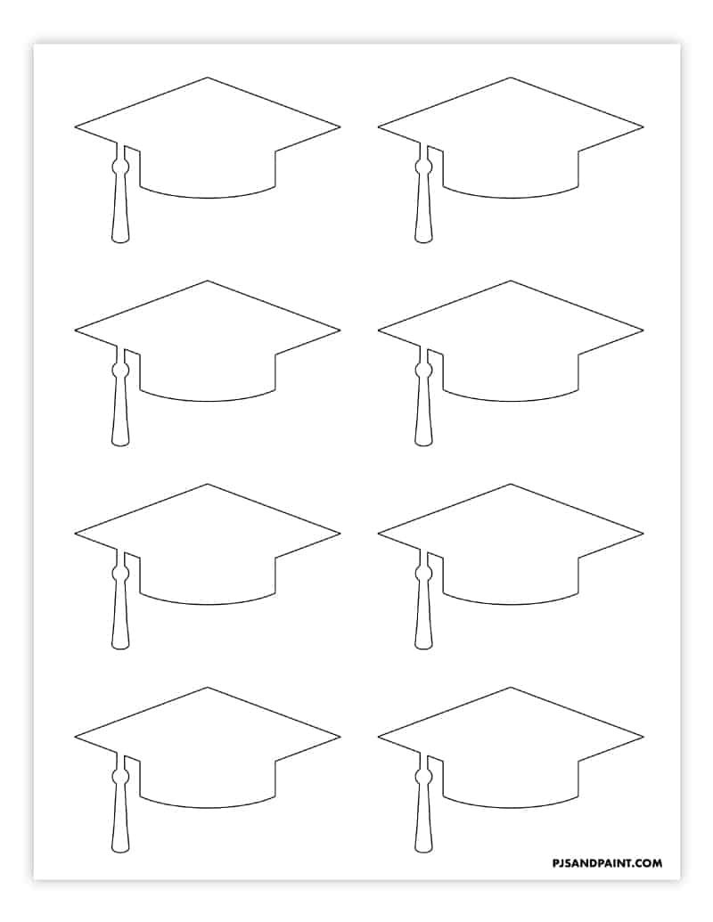 24+ Graduation cap template free printable trends
