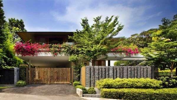 Industrialized Green Homes Casa Pinterest House Design - Open-air-sculpture-residence-by-marek-rytych-architekt