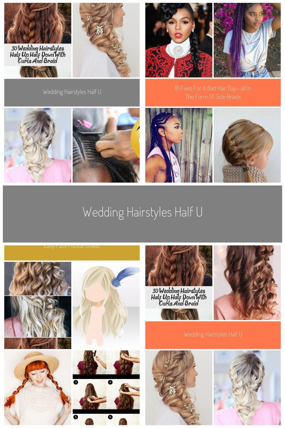 Read more about learn how to braids #braided #feed in Braids half up half down