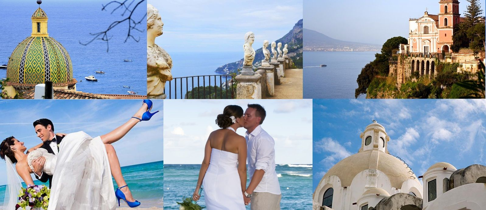 Luxury Italian Wedding Venues. Yacht Charter to get married in Capri, Positano, Amalfi, Ravello and Sorrento. Hire our yachts to set aboard your photo shoot!  Web Site: www.amalfisails.com E-Mail: info@amalfisails.it