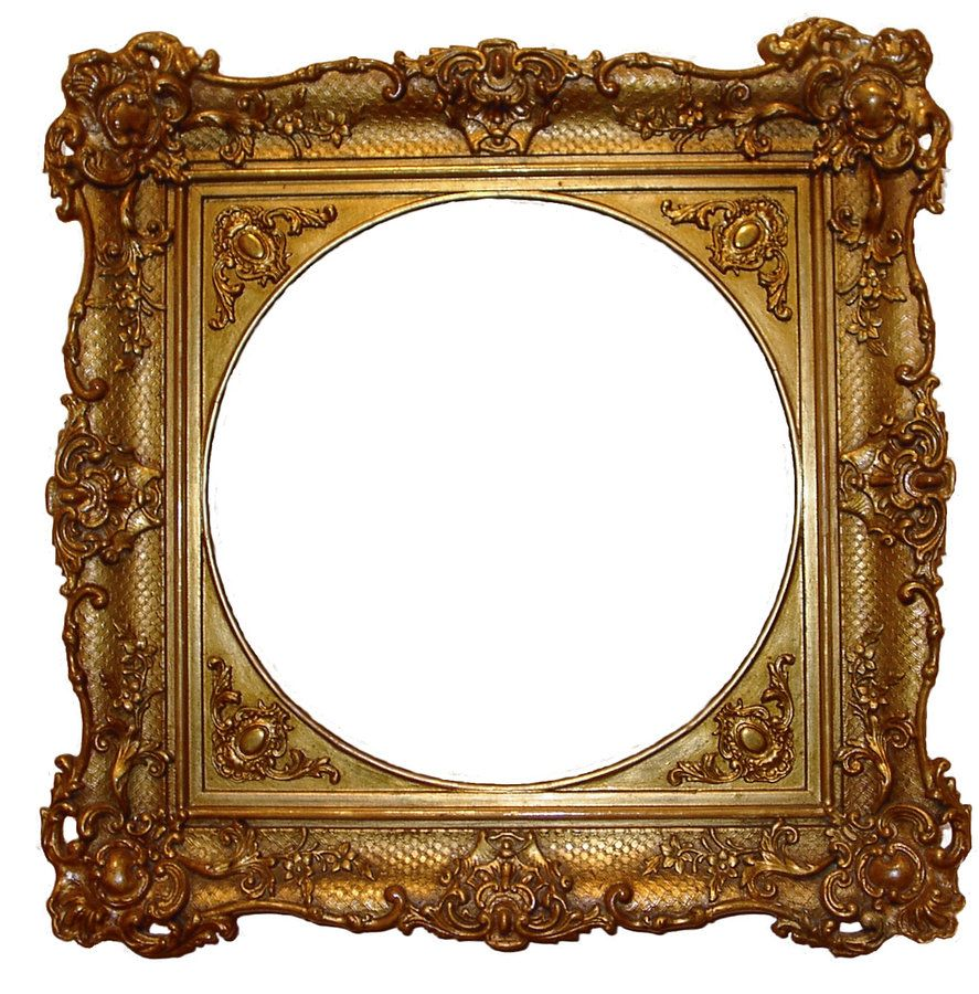 Posh Gold Frame Stock by ~SockMonkeyStock on deviantART