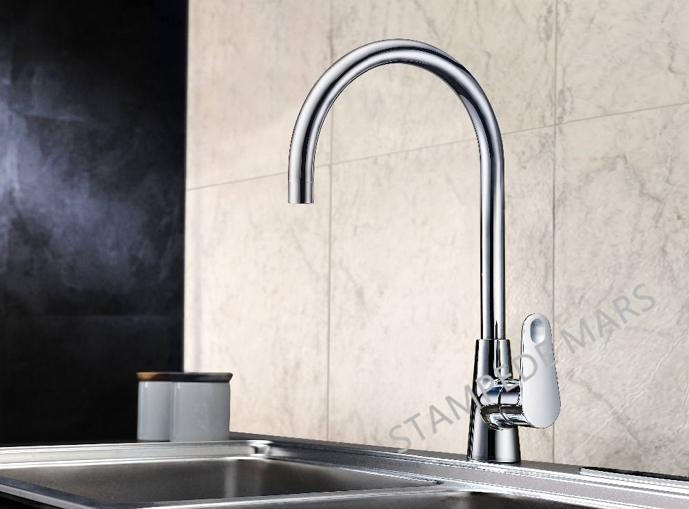 Kitchen Faucet Handle Faucet Hot and Cold Water Classic Style Brass ...
