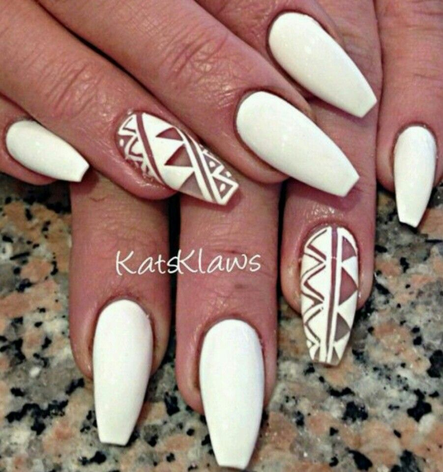 Happy stars shine the brightest maybeanothername nails matte white coffin nails with negative space design solutioingenieria Choice Image