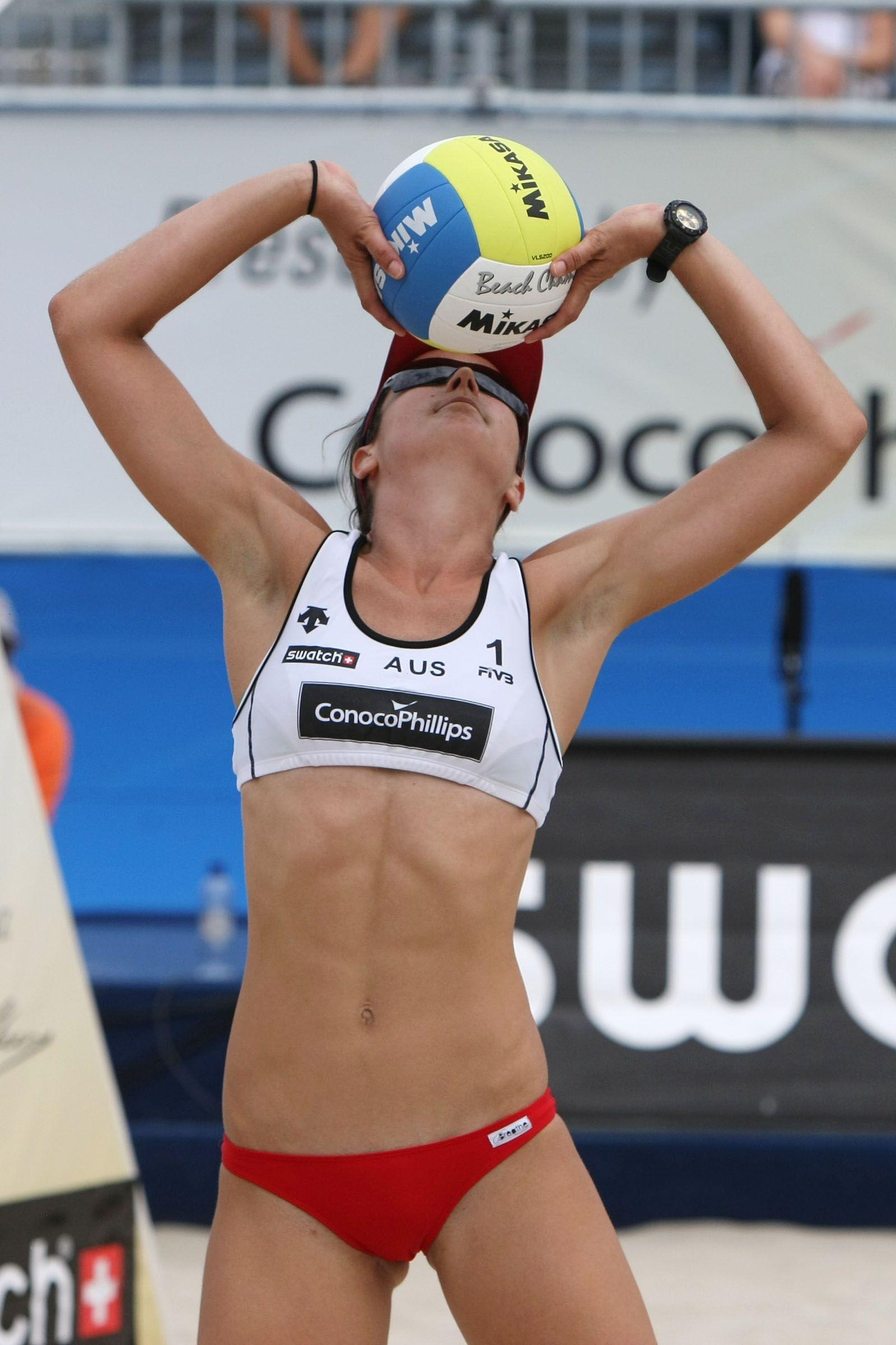 Becchara Palmer Of Australia Jpeg 1600 2400 Muscle Women Beach Volleyball Athletic Women