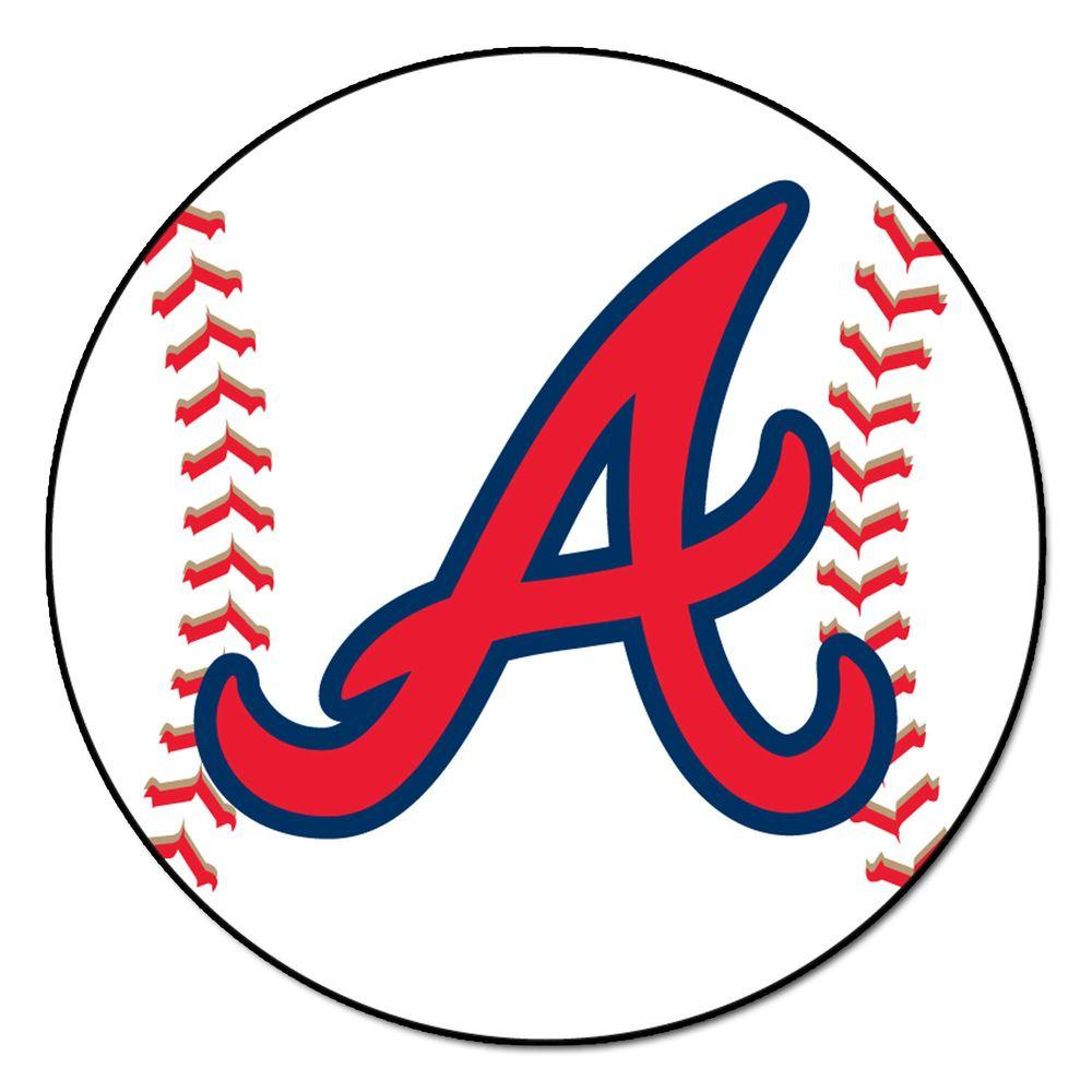 The Home Depot Logo In 2020 Atlanta Braves Baseball Atlanta Braves Logo Braves Baseball