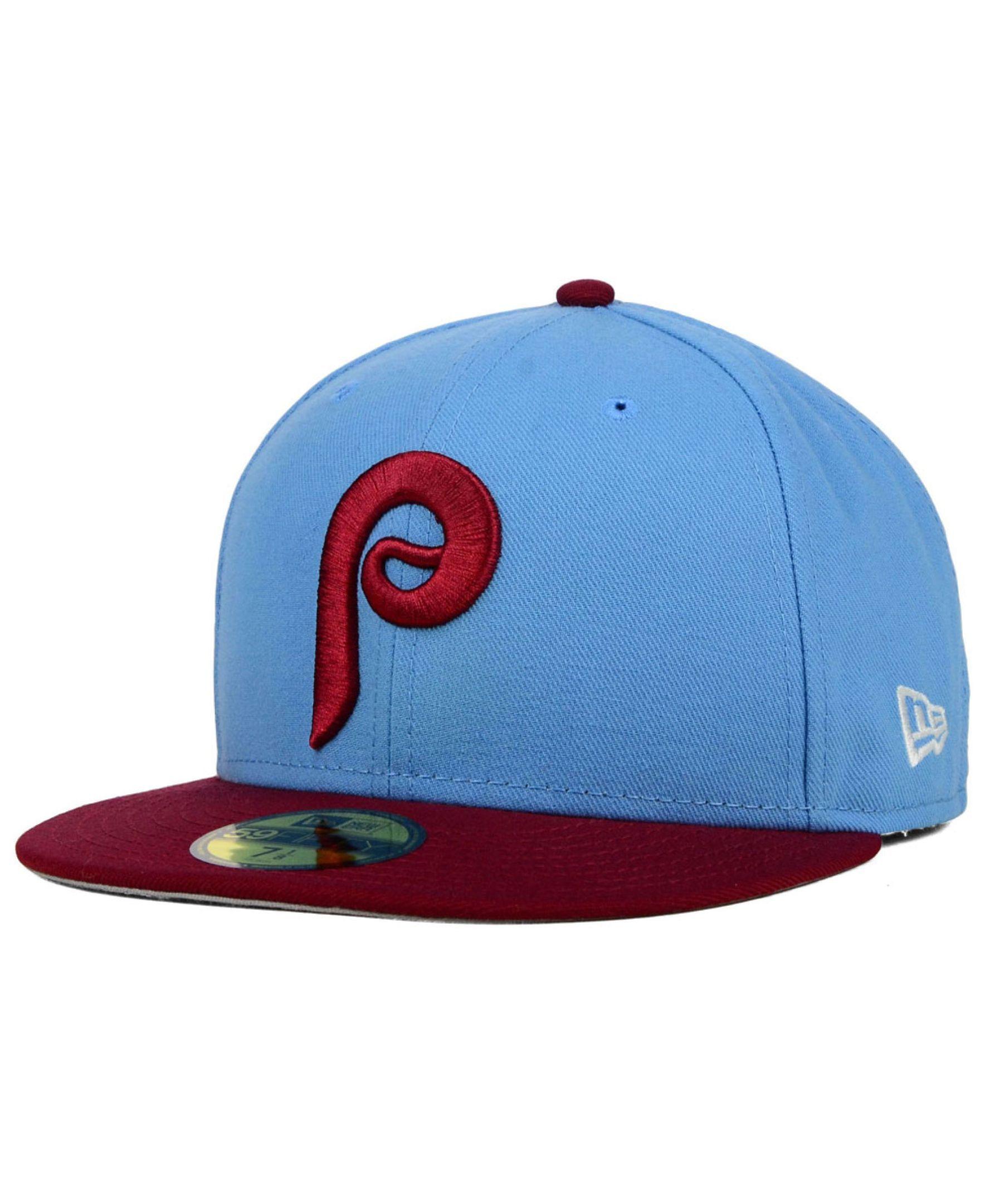 New Era Philadelphia Phillies Cooperstown 2-Tone 59FIFTY Cap ... 52f65e42928