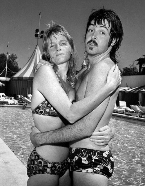 Paul and Linda McCartney, definitely the 1970's!