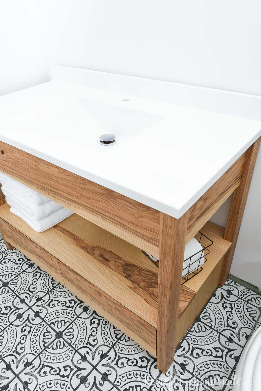 Diy Bathroom Vanity With Bottom Drawers Modern Bathroom Vanity Bathroom Vanity Drawers Diy Bathroom Vanity [ 1350 x 900 Pixel ]