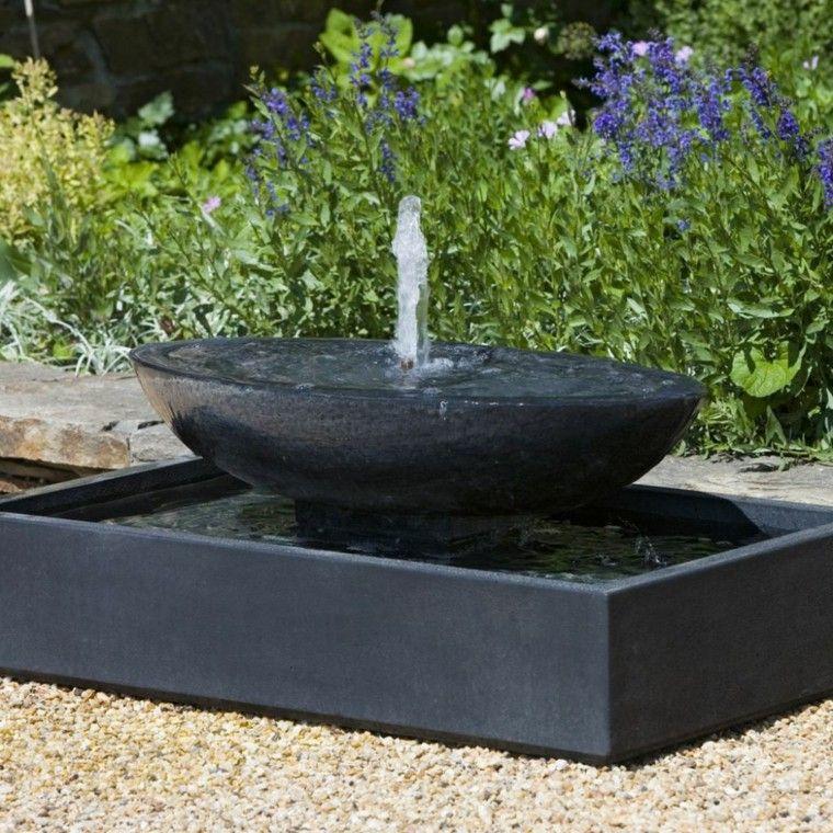 Fuentes de jardín - 100 modelos de espectáculos acuáticos Fountain