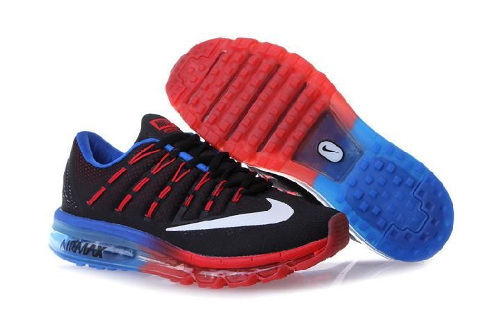 nice nike air max 2016 running shoes black red blue low cost hot rh pinterest com
