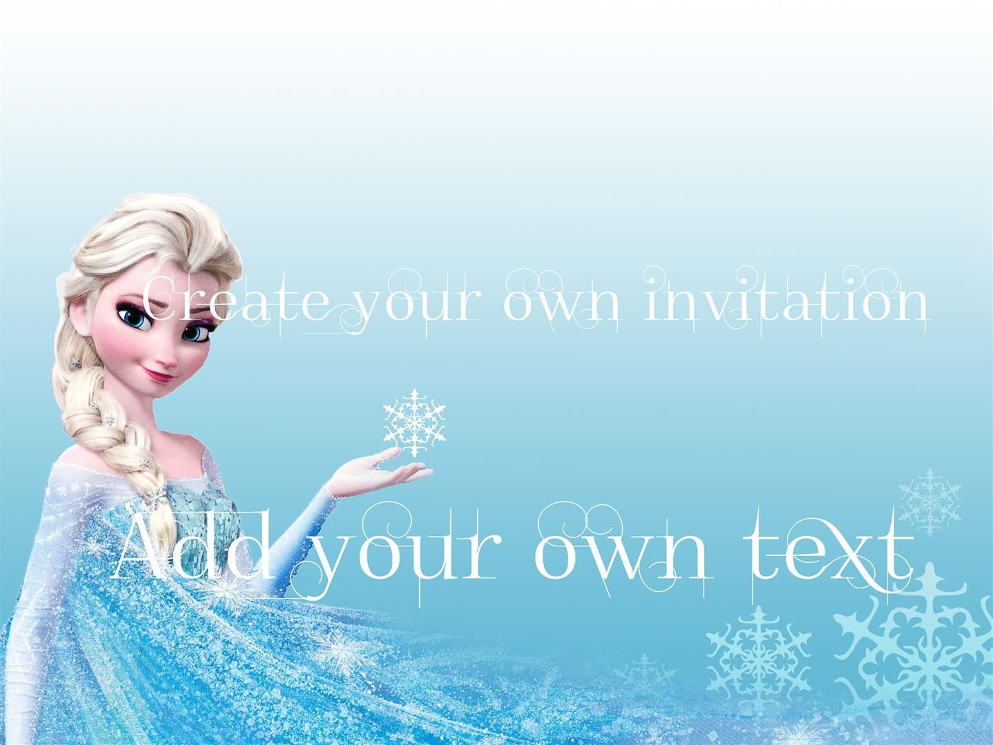 Instant+download+++FROZEN+party+invitation+or+by+SouthPacific,+$2.50