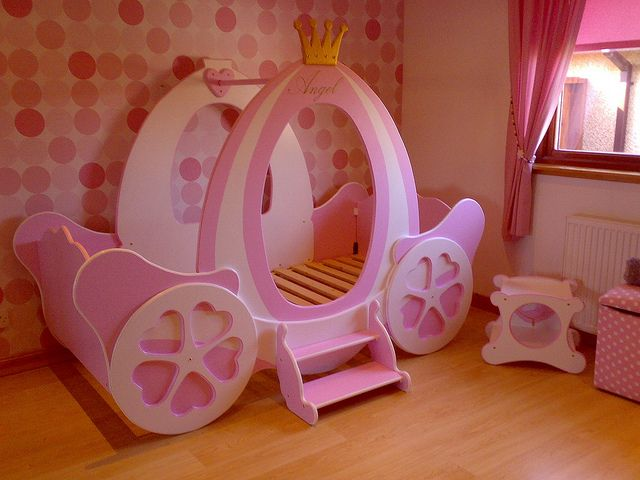 The little bed company's photostream (carriage, castle, house beds). Great ideas!