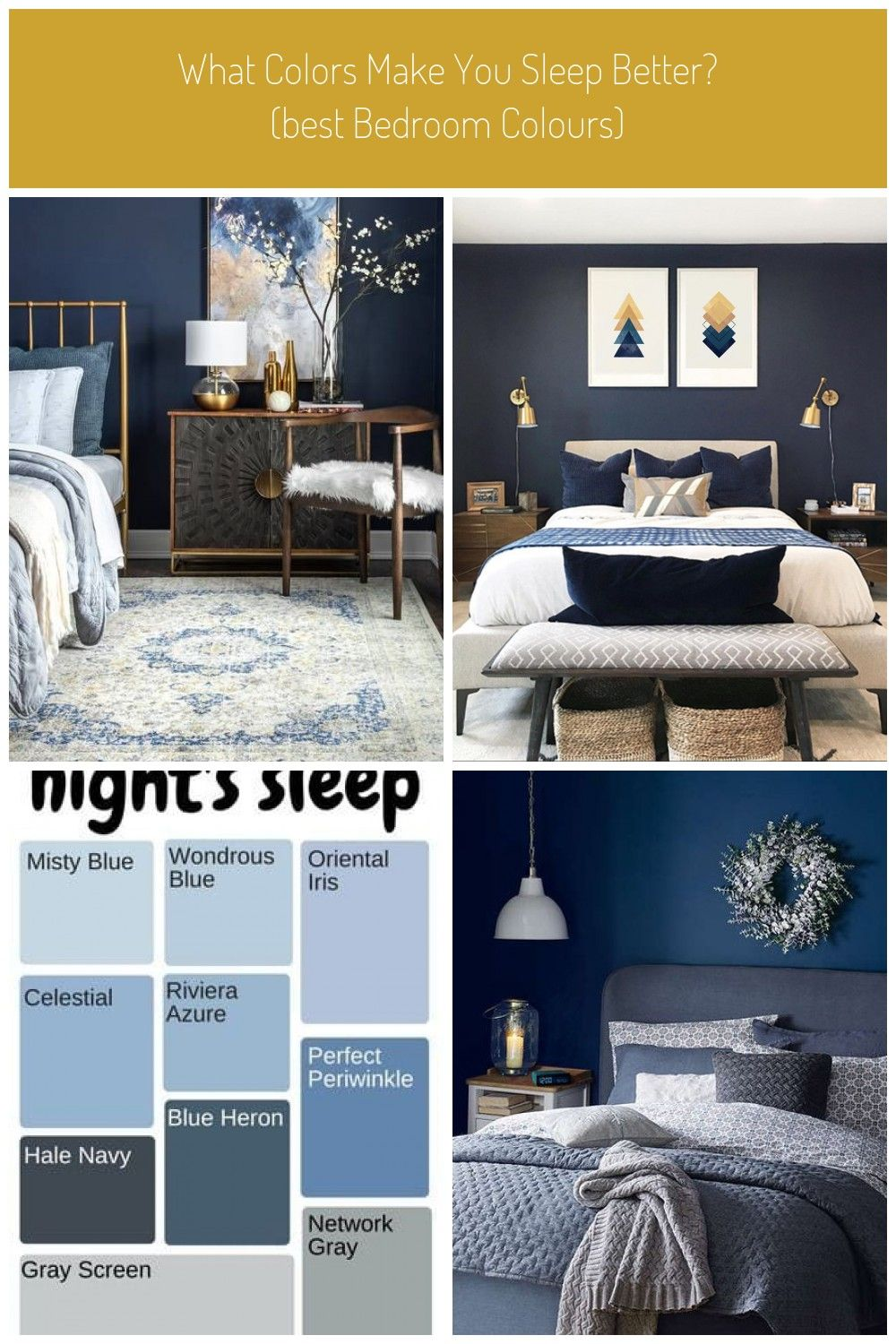 Distressed Blue Persian Area Rug In Bedroom With Wood Tones Gold Accents And Dark Blue Wall Blue Bedroom Bosphorus Distressed Persian Blue Rug Dark Blue Walls Blue Walls Best Bedroom Colors