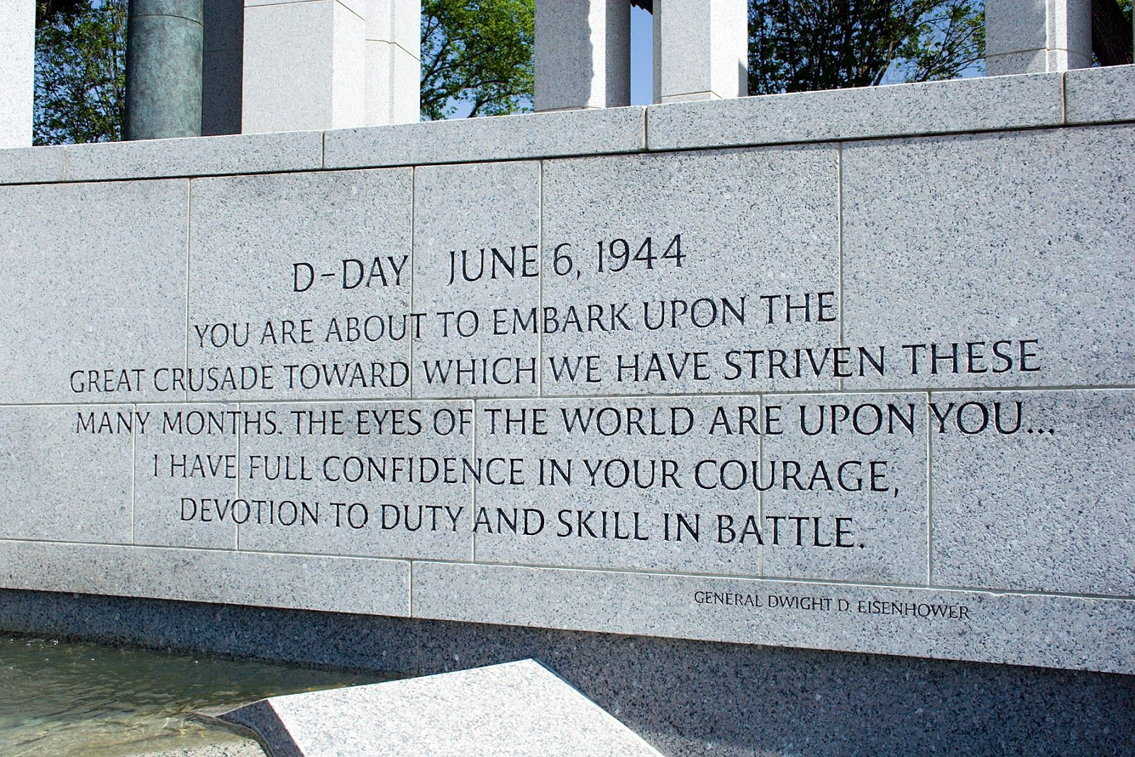 remembering d day images | Quote by General Dwight D. Eisenhower ...