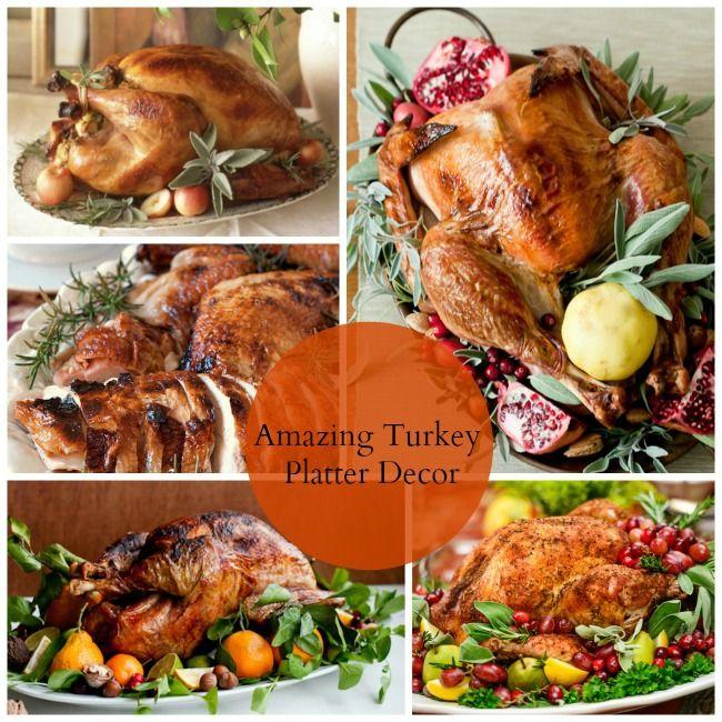 Amazing Turkey Platter Decor B Lovely Events
