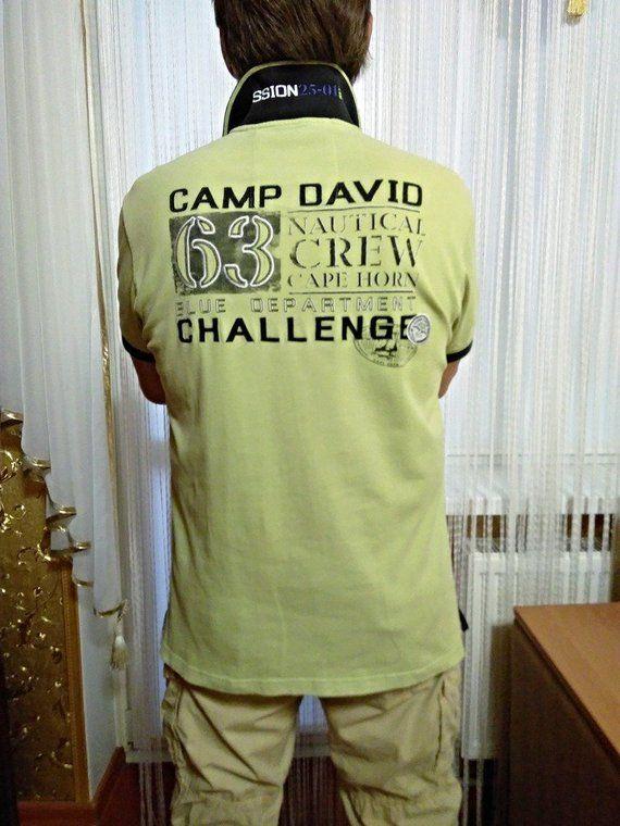 skate shoes best deals on wholesale online T-shirt polo, Camp David 1963, authentic equipment ...