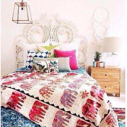 Boho bedroom by @littlenestgirl for Nest Emporium