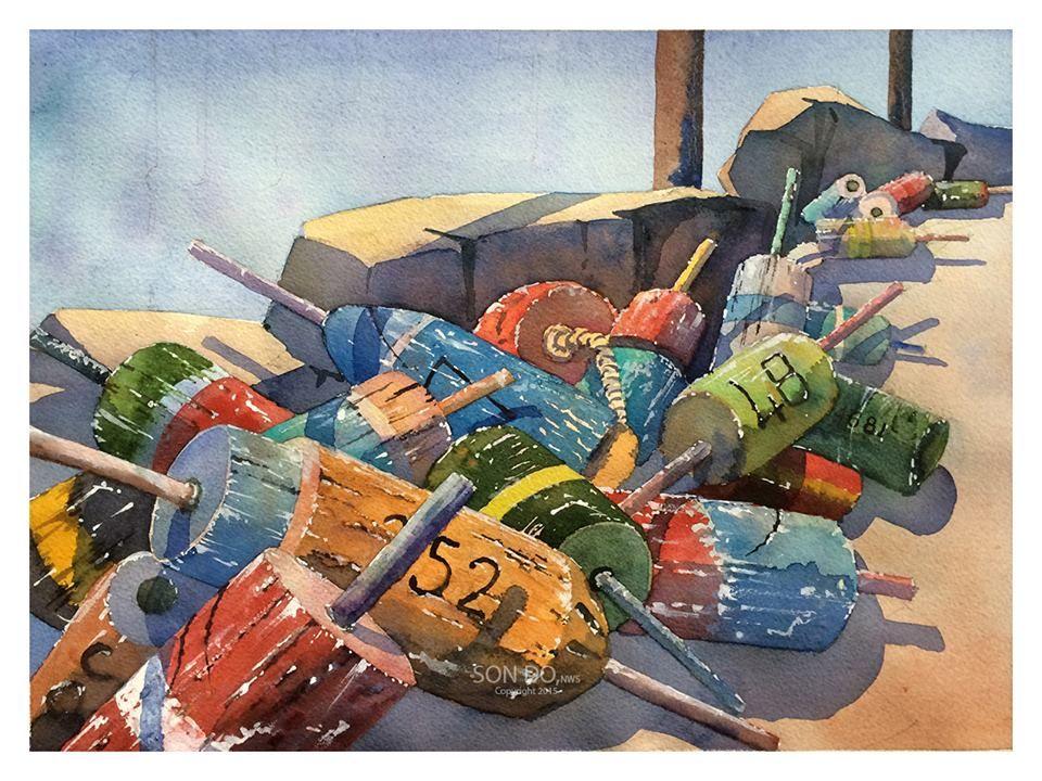(102) Watercolour Confluence 水彩大匯合