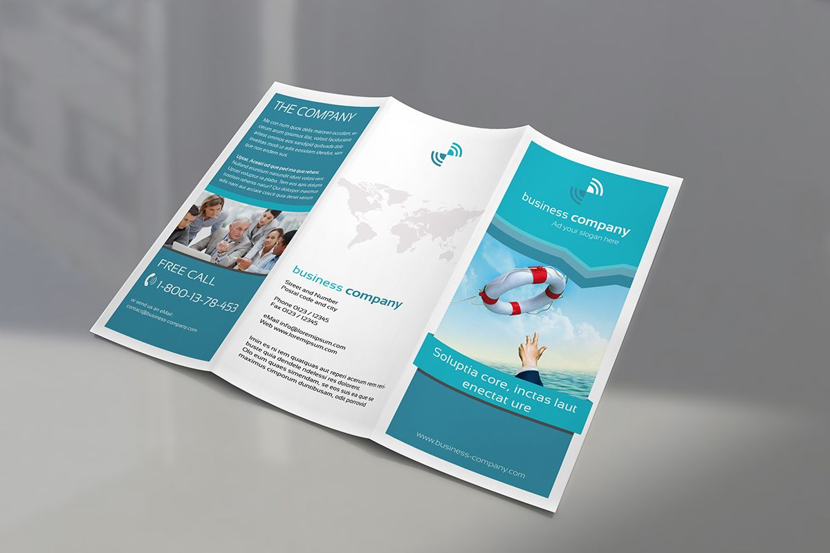 Trifold Brochure Mockup Freebie  Mockup    Mockup And