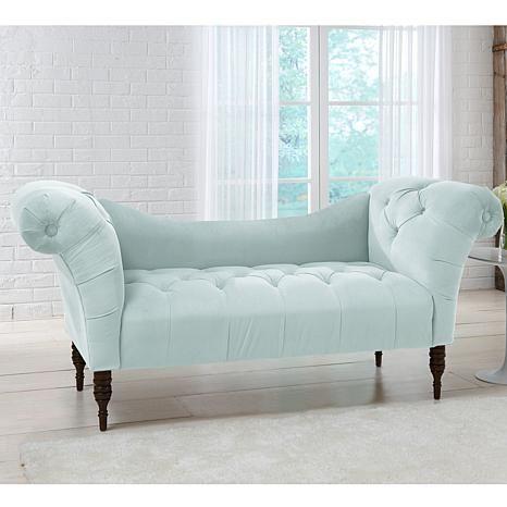 skyline mobel getuftet chaise lounge 7564468 hsn gesamten getuftet chaise lounge sofa