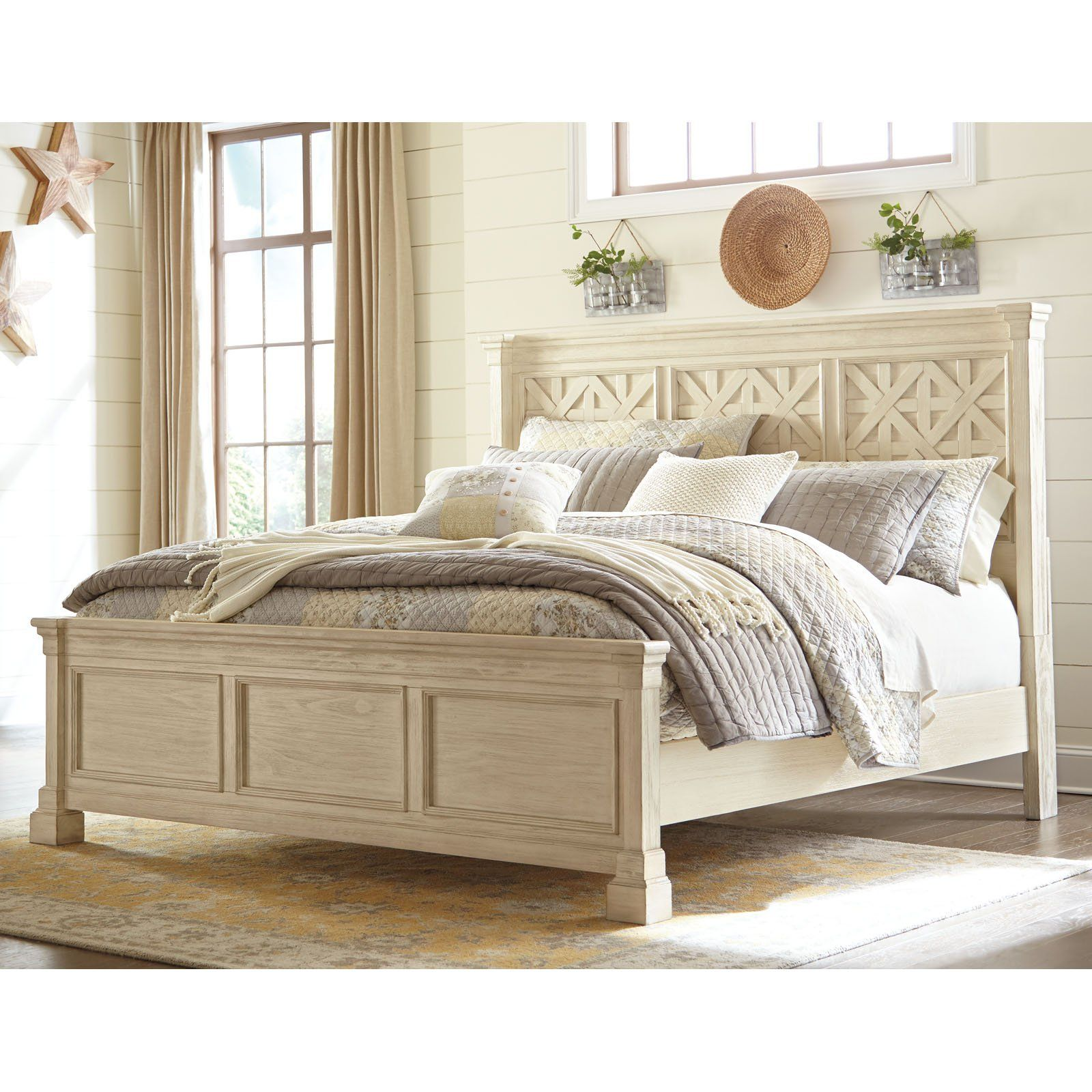 Signature Design by Ashley Bolanburg Panel Bed Bedroom