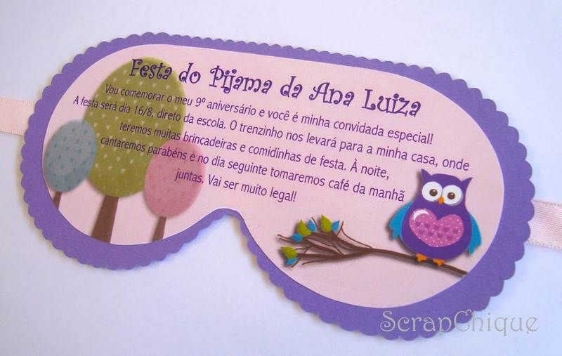 27 Convites para Festa do Pijama continue vendo...