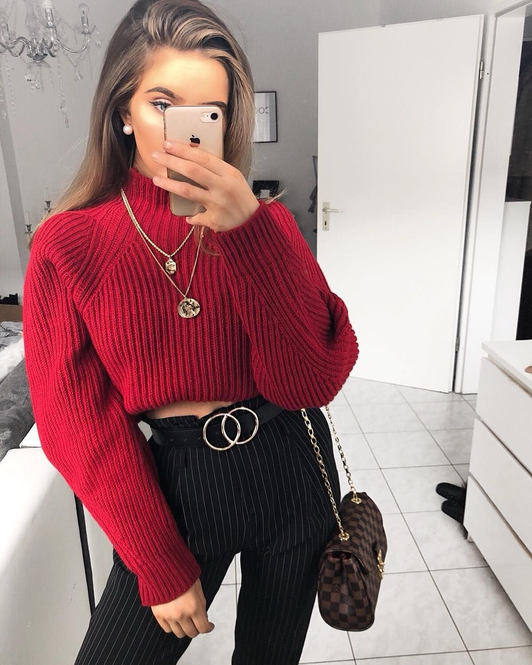 Black And Red Aesthetic Outfits