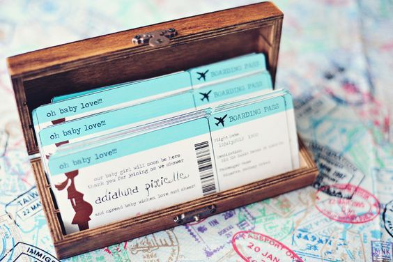 A Shabby Chic Travel Themed Baby Shower U003d) » Lifeu0027s Contant Surprises