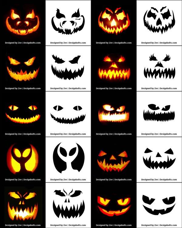 20+ Halloween carving pumpkin templates ideas in 2021