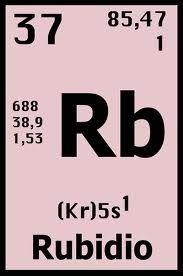 Elemento qumico nm37 rb rubidio elementos qumicos pinterest elemento qumico nm37 rb rubidio urtaz Choice Image