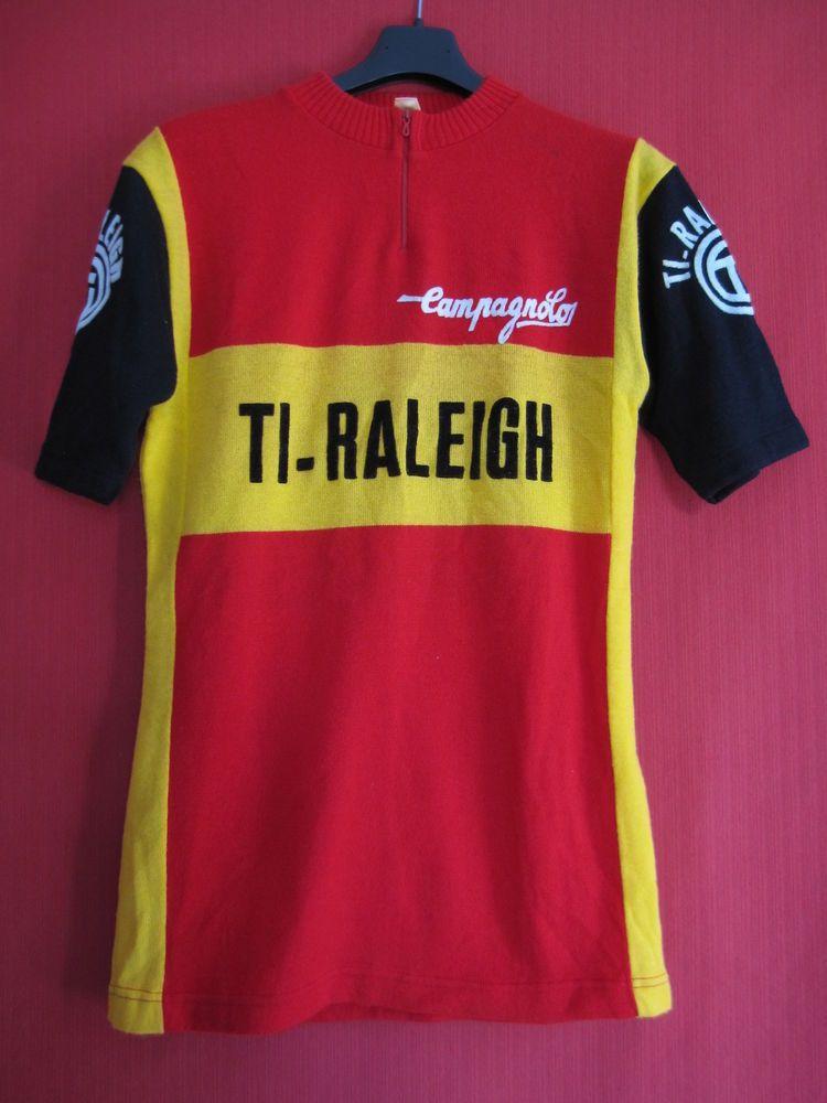 50ed364f3 Cycling t-shirt Ti Raleigh Tour de France 1976 Vintage 70 S Bike - 3 ...