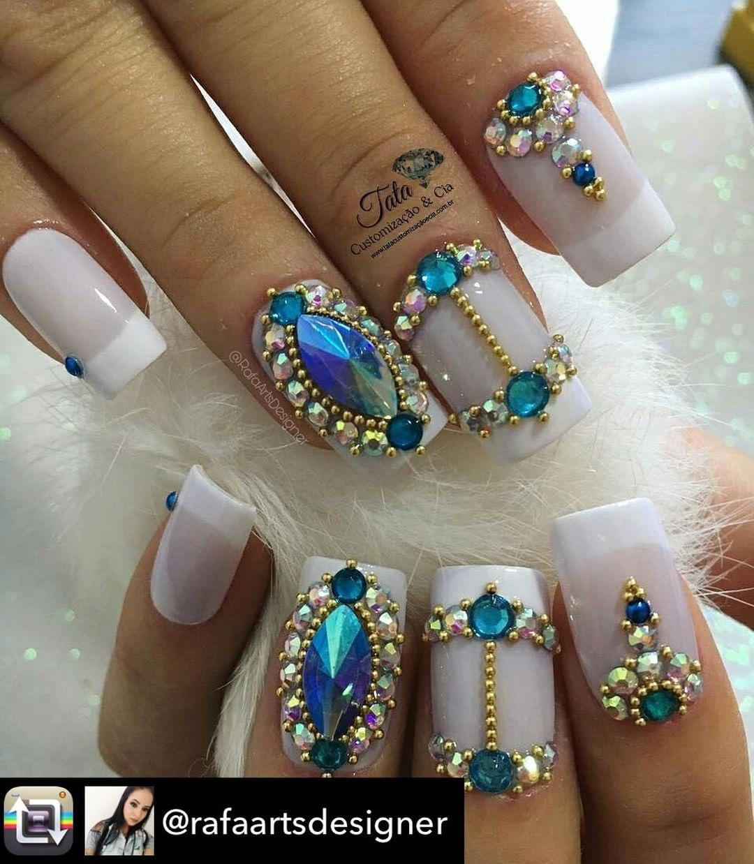 Pin by Deise Muller on ADESIVOS/JOIAS | Pinterest | Manicure ...